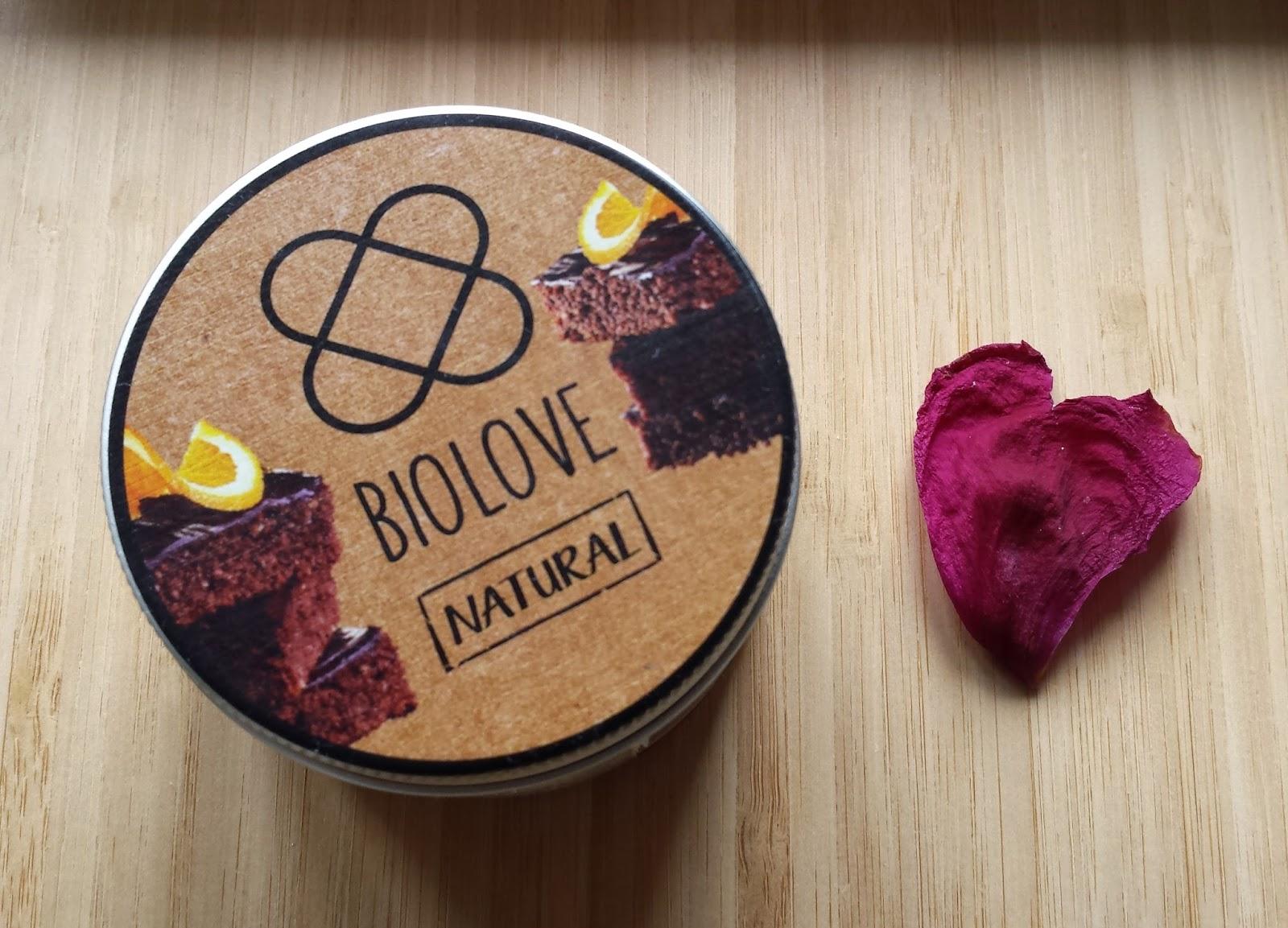Polskie kosmetyki BioLove - mus do ciała brownie z pomarańczą