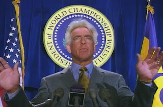WCW Souled Out 1999 - WCW President - Ric Flair