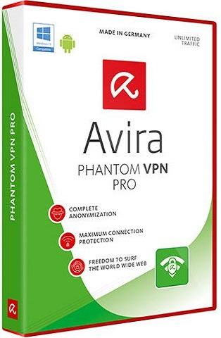 Avira Phantom VPN Pro 2.12.7.22015 poster box cover