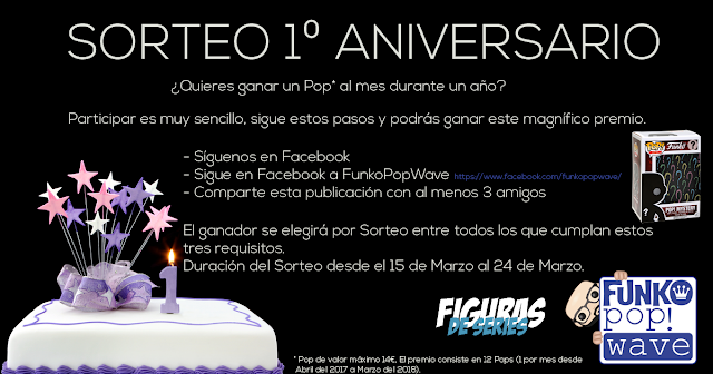 Sorteo Primer Aniversario Figurasdeseries.es