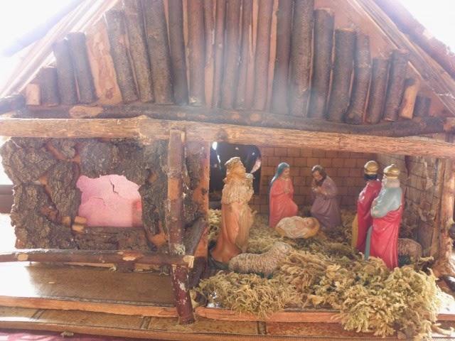 Weihnachtskrippe selber bauen