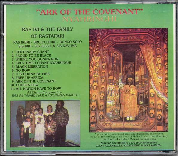 HISTÓRIA DO REGGAE: RAS IVI AND THE FAMILY OF RASTAFARI