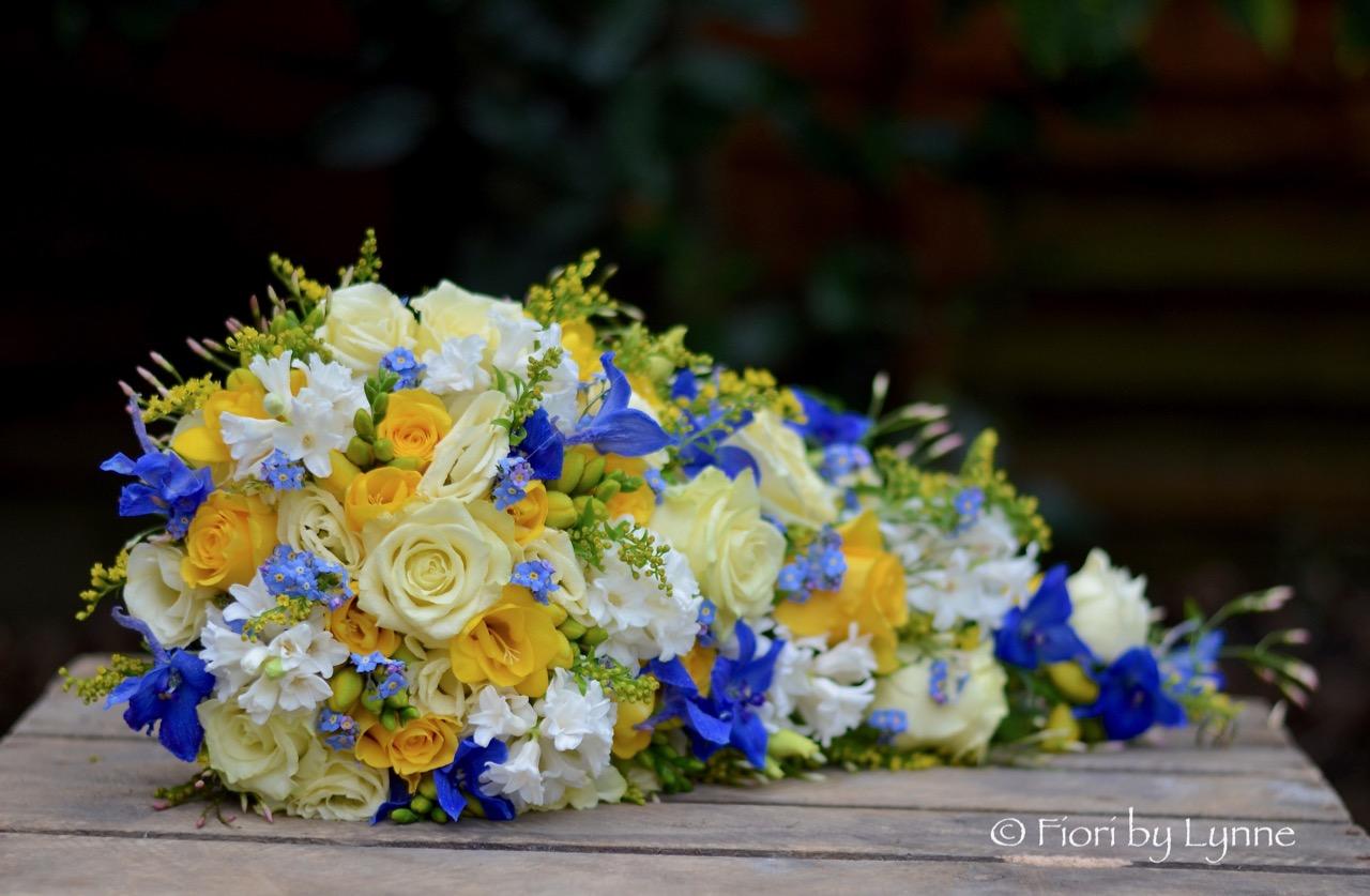 Wedding Flowers Blog Melanies Spring Wedding Flowers In Yellows