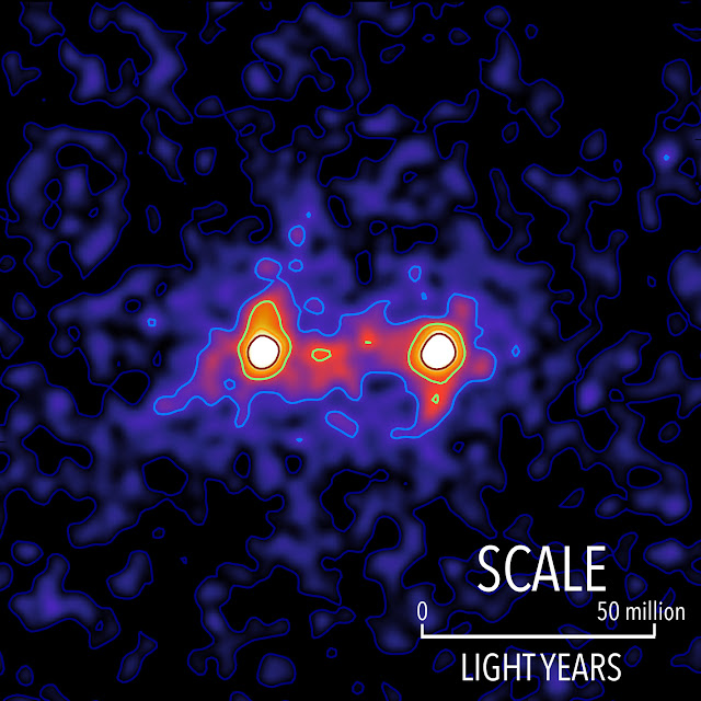 First 'image' of a dark matter web that connects galaxies