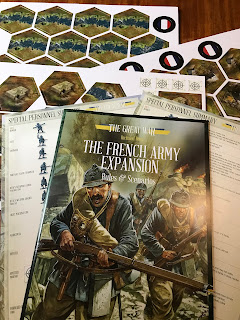 Components from the The Great War French Expansion