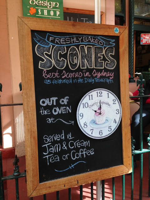 Sydney - The Tea Cosy Freshly Baked Scones