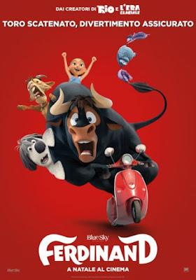 Ferdinand, la locandina - cartoon, recensione, cinema