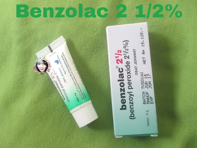 Review Benzolac 2 1/2%