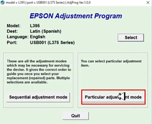 RESET EPSON L395 L495 100% GRATIS