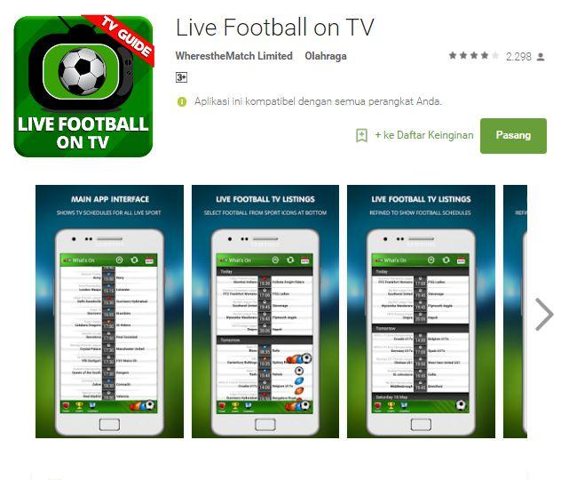 Live Streaming Bola: 7 Aplikasi Smartphone Gratis Streaming Bola Terbaik Saat