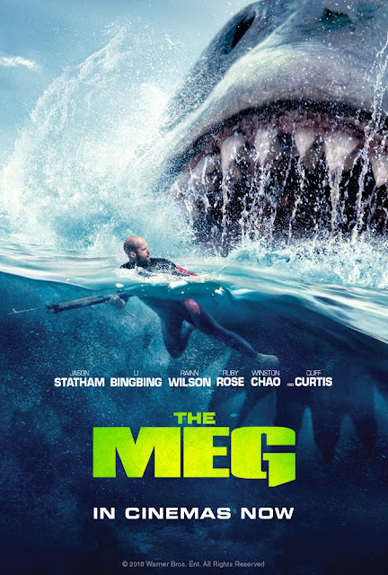 poster The Meg 2018 Full Movie Download Dual Audio 720p