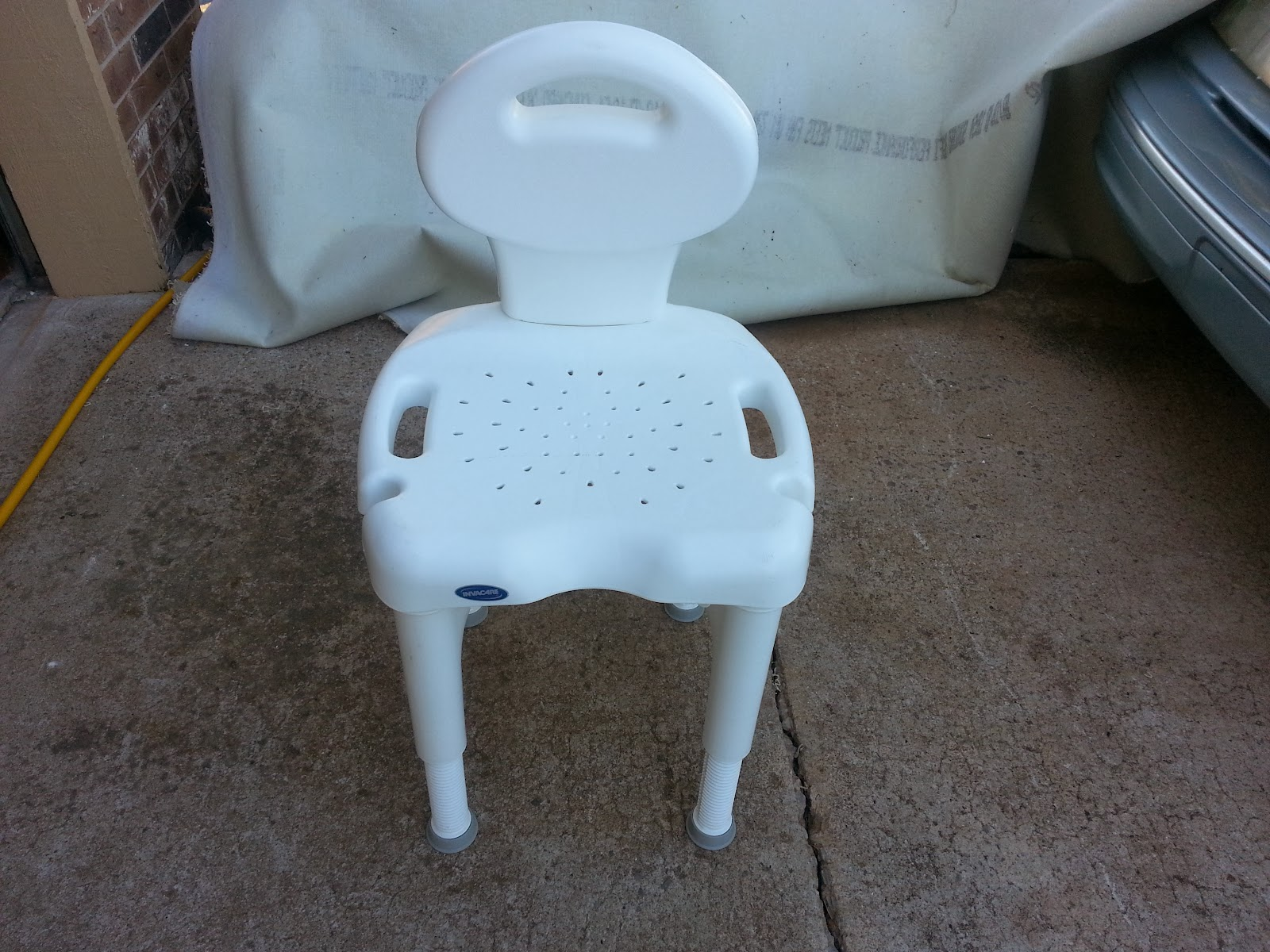 Invacare Shower Chair Cover Hire Greenock Sold W Back
