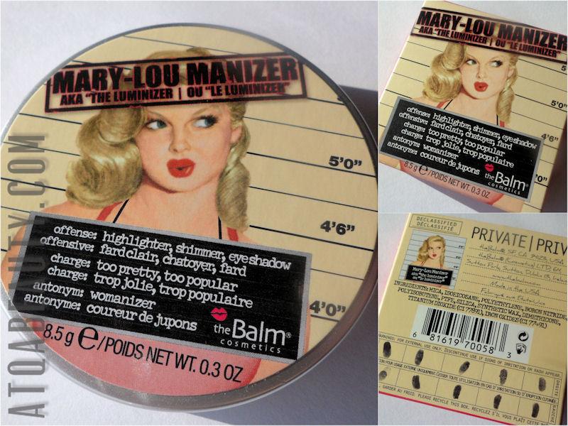 Makijaż :: Prawdopodobnie najlepszy rozświetlacz na świecie <br>– theBalm Mary-Lou Manizer
