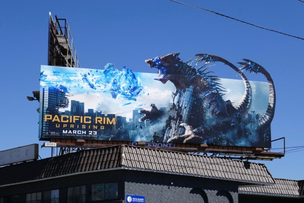 Pacific Rim Uprising Kaiju billboard