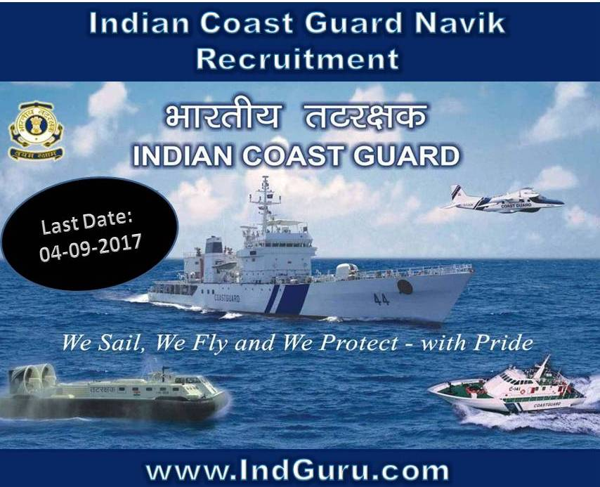 Indian Coast Guard Navik Recruitment