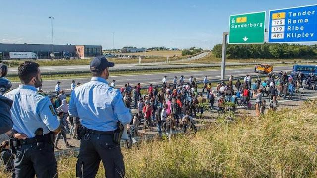 Κλείνει τα σύνορα η Δανία.Δεν θα δεχθεί κανέναν «πρόσφυγα» από το πρόγραμμα μετεγκατάστασης του ΟΗΕ