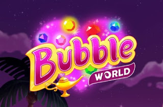 Play Free Bubble World Puzzle Online Games
