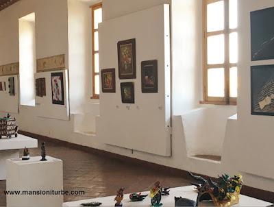 Art Exhibition in Pátzcuaro at the Ex Colegio Jesuita