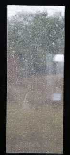 Rain on the windows