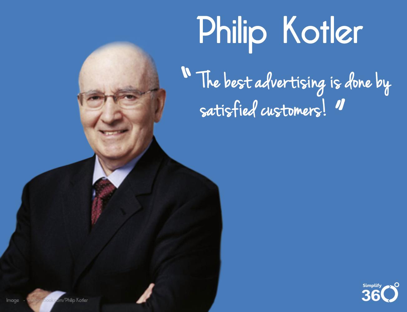 phiilp kotler's quote