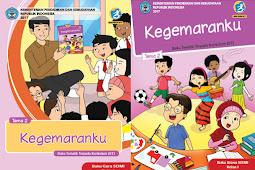 Buku Kurikulum 2013 SD/MI Kelas 1 Tema 2 Edisi Revisi 2017 Untuk Guru dan Siswa