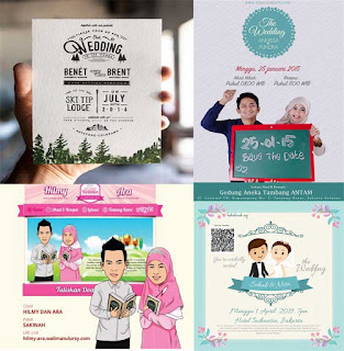 4 Tips Penting Membuat Undangan Pernikahan Menarik Terbaru disain undangan pernikahan - free wedding template - gelaspecah.id