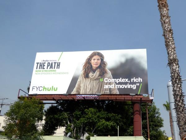 The Path FYC Hulu 2016 billboard