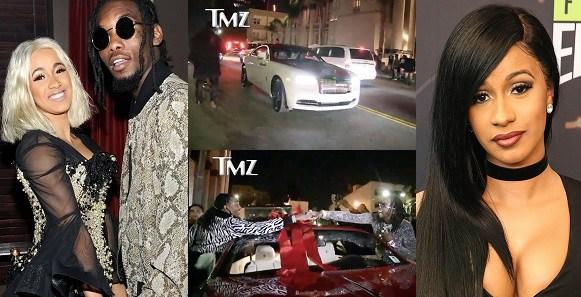 Cardi B Fiance: Cardi B. Buys Fiance A Rolls Royce Wraith For Birthday Present