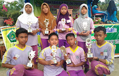 MIS Nurul Huda Dayo Tandun Berhasil Membawa 8 Piala dari Porseni MI Sekabupaten Ke-XII