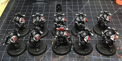 Heresy Era Legion I Dark Angels Tactical Squad WIP mark III armor