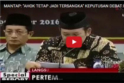 [Video] Keputusan Para Ulama Setelah Ditemui Presiden 'Ahok Tetap Jadi Tersangka'