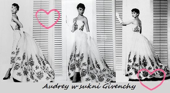Audrey w bieli i jej wkład w sukces Givenchy
