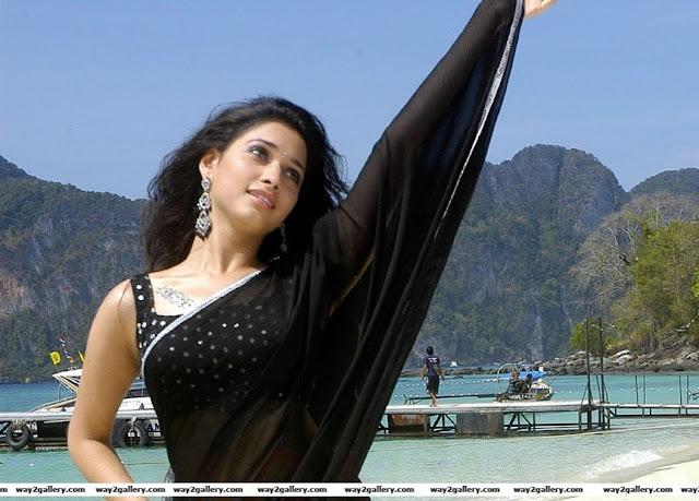 tamanna Tamanna  in saree sexy photos