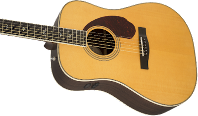 Đàn Guitar Fender PM-1 Deluxe Dreadnought, Natural