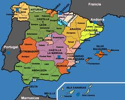 Spanien Lanzarote Karta.Spanien Semester Och Resor Karta Over Spanien