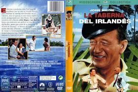 Carátula de Dvd de La tarverna del irlandés.