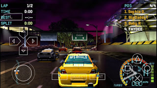 Game Need For Speed Underground Rivals ISO