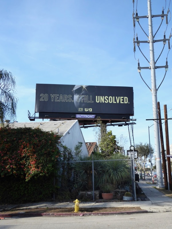 Biggie Smalls Unsolved billboard
