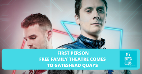 First Person – free family theatre comes to Gateshead Quays (AD)