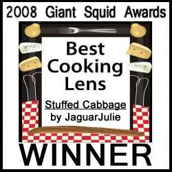 jaguarjulie Squidoo Best Cooking Lens 2008