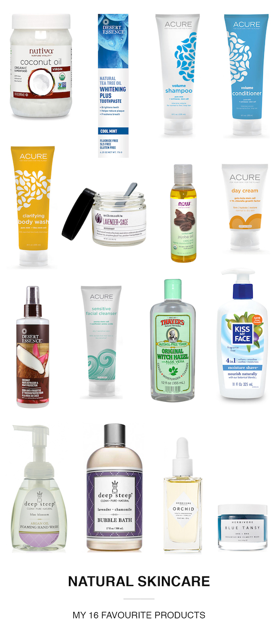 favourite natural skincare products / www.sunshineandwhimsy.net