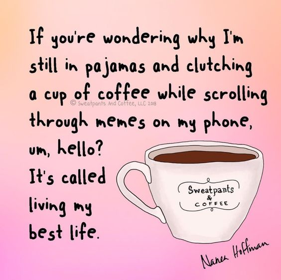 Because It's Monday   Afternoon Coffee and Evening Tea