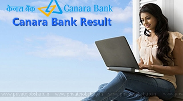 Canara Bank Result