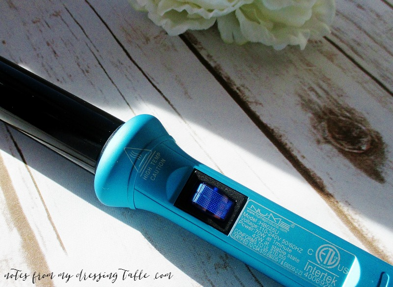Nu Me Classic Curling Wand and a Very Special Offer!-Review-Toggle-Switch-Detail-notesfrommydressingtable.com