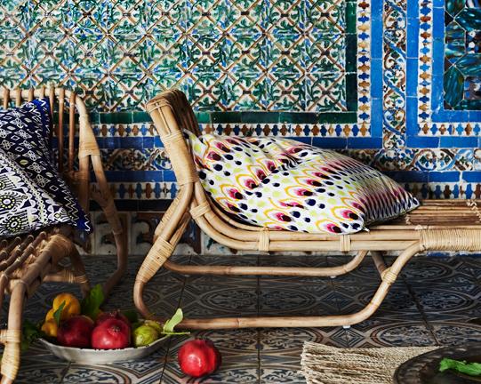 IKEA und seine neue Jassa Kollektion – Möbel und Kissen im Marokko Design