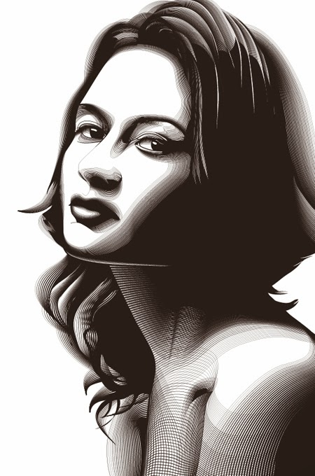 Retrato en Semitono con Adobe Photoshop e Illustrator 22 by Saltaalavista Blog