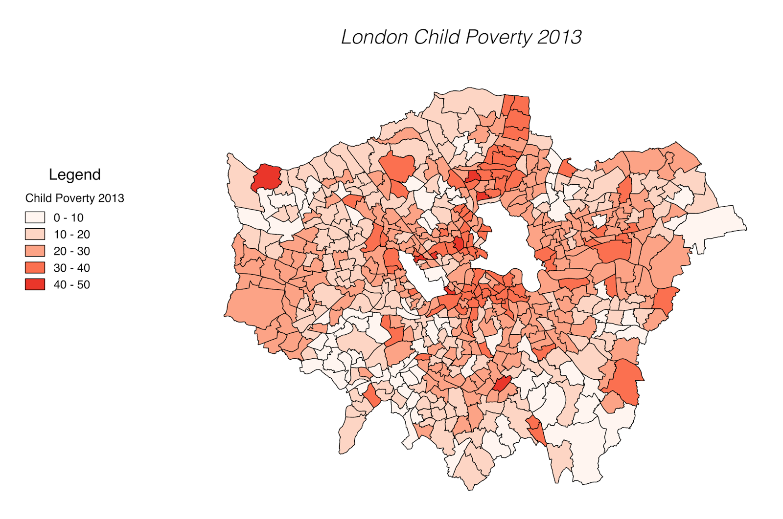 London child poverty (2013)