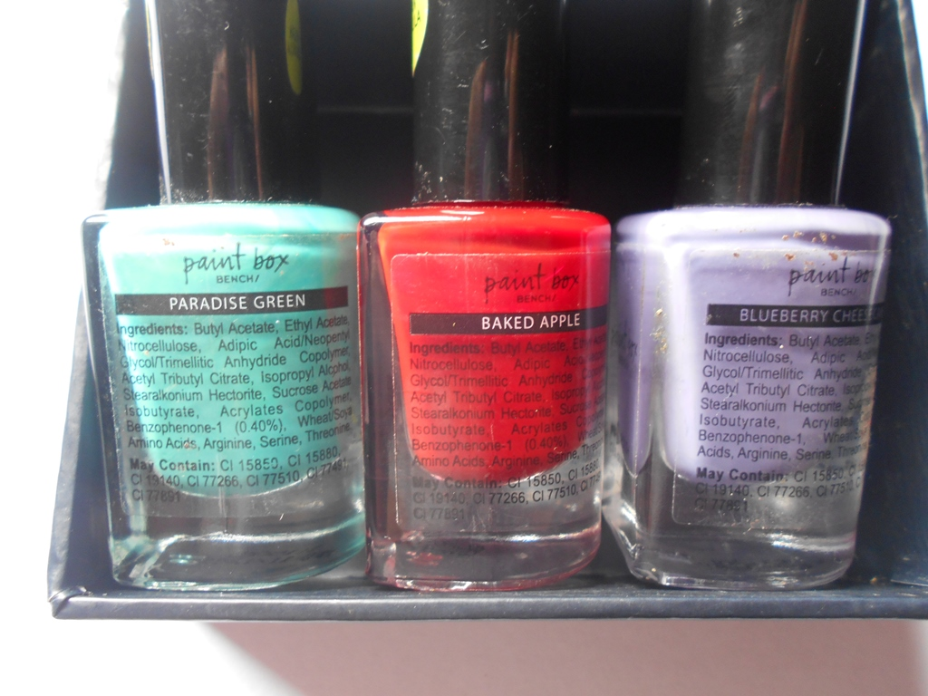 Check Out These Vegan Nail Polishes From Paint Box/Bench!!! They ...