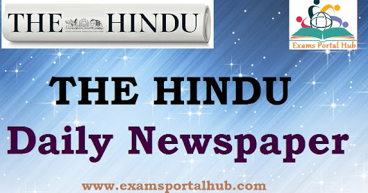 The Hindu 2018 Newspapers