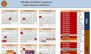Format Kaldik (Kalender Pendidikan)